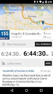 Vancouver Bus - MonTransit - náhled