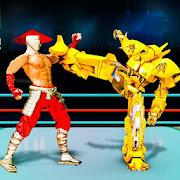 Robot vs Superhero Wrestling: Robot Fighting Games