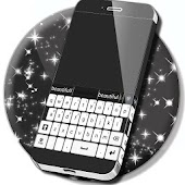 Keyboard Black and White Theme