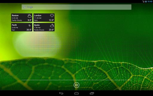World Clock & Weather Widget 1.9.6 Screenshots 9