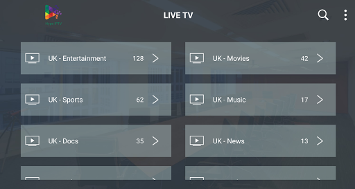 Hype IPTV 2.1.1 screenshots 2