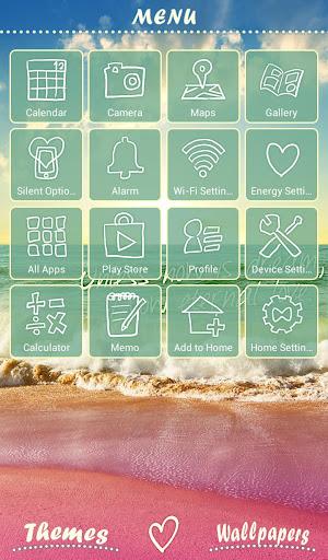 Cute Theme-Beachside Story- 2.0.0 Windows u7528 2