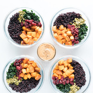 Black Rice and Butternut Squash Bowls.