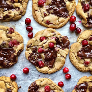 Browned Butter Cranberry Chocolate Chunk.