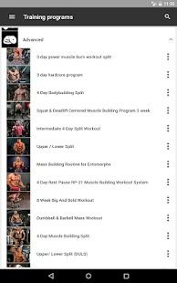 Gym App Workout Log & tracker for Fitness training- screenshot thumbnail