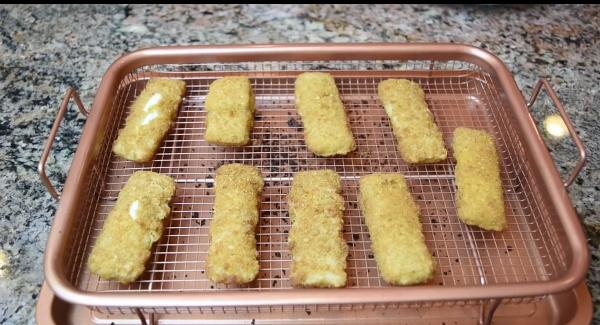 Copper Crisper Cheese Sticks