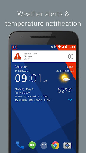 Transparent clock & weather  screenshots 8