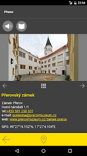 Přerov - audio tour- screenshot thumbnail