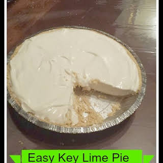 Easy Key Lime Pie.