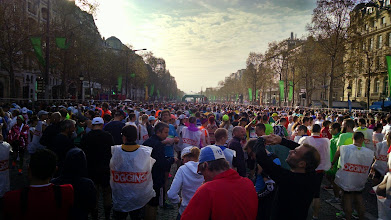 Photo: View down to the start