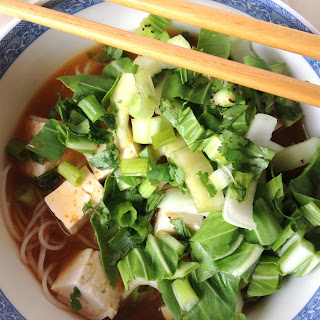 Noodles in Spicy Lemongrass Broth.