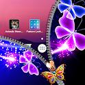 Butterfly Zipper Lock Screen icon