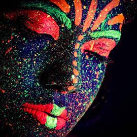 I am Universe by Bihong Kollogov - People Body Art/Tattoos