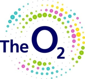 the o2 arena logo