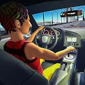 Real Car Driving School 3D - Free icon