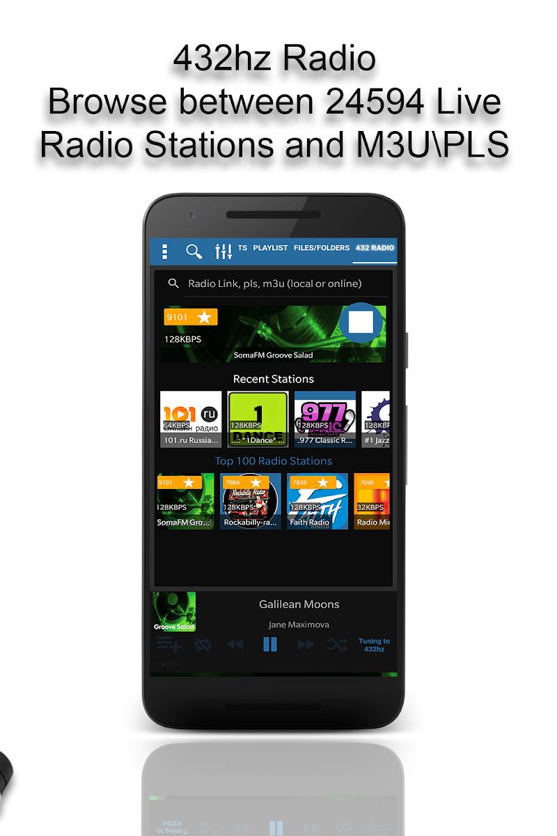 432 Player - Listen to Pure Music Like a Pro Screenshot 4