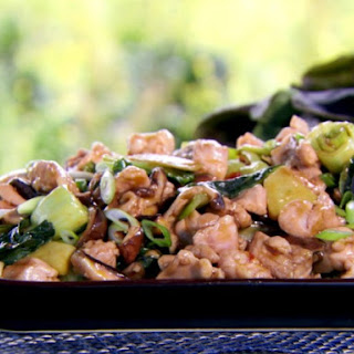 Oyster Sauce Chicken with Bok Choy