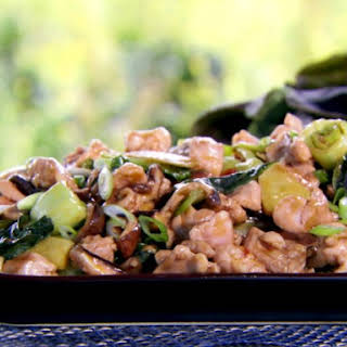 Oyster Sauce Chicken with Bok Choy.