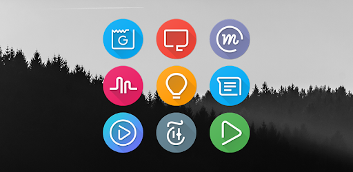S8 UI Icon Pack app for Android screenshot