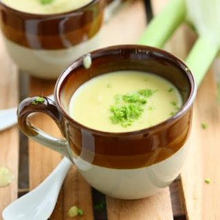 Fennel Potato Soup with Saffron
