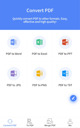 Apowersoft PDF Converter: Convert, Merge PDF & OCR screenshots 1
