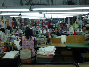 Photo: And then it was back to work, in a garment shop in New York's Chinatown.