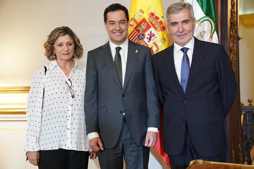 Recepción a la medalla de Andalucía.