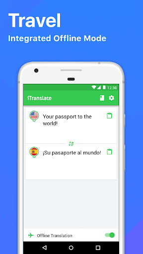 iTranslate Translator & Dictionary app (apk) free download for Android/PC/Windows screenshot