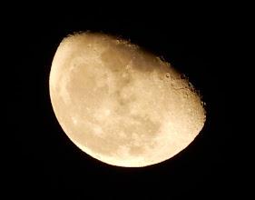 Photo: 今宵の月、十九夜月。