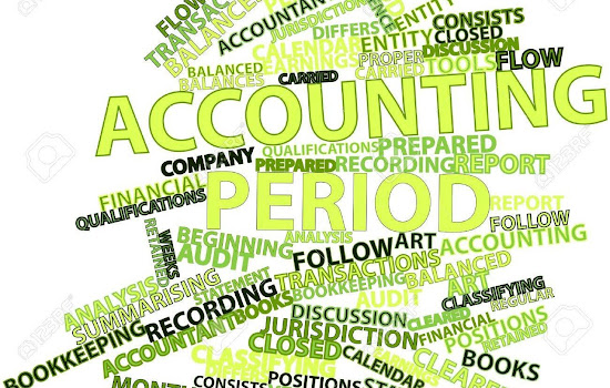 Accounting periods with associated words