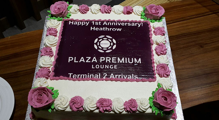 1st Anniversary Celebration of Plaza Premium Lounge at Arrivals of
