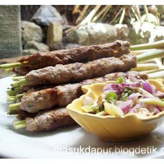 Balinese Tuna Satay