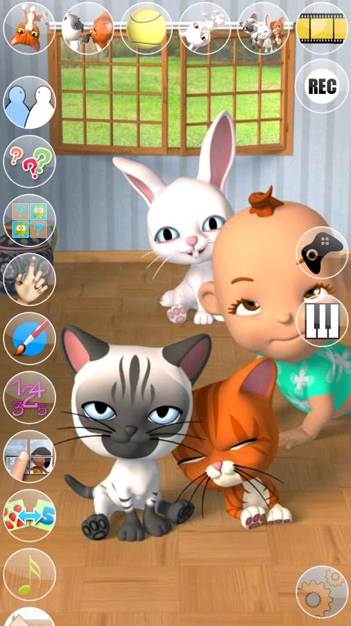 Talking 3 Friends Cats & Bunny - screenshot