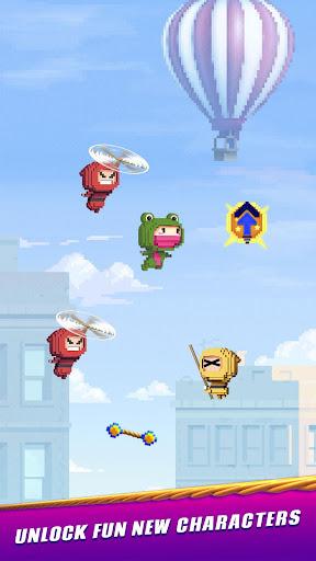 Ninja Up! - Endless arcade jumping  screenshots 3
