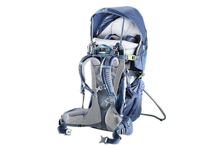 Product shot of a Deuter Kid Comfort Pro child carrier pack