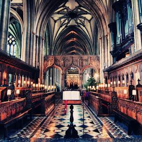 Bristol Cathedral by Brandon Rechten - Buildings & Architecture Places of Worship ( rechten, church, cathedral, architecture, nikon, worship )