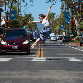 Kelsey leap by Chris Hughes - Sports & Fitness Other Sports ( ballet, leap, pointeshoe, jump )