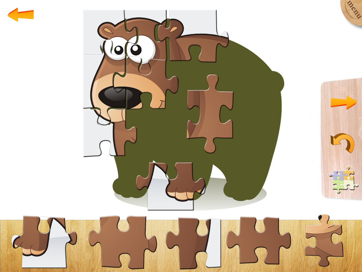 Puzzles for kids and toddlers- screenshot