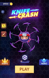 Knives Crash App Download For Android and iPhone 10
