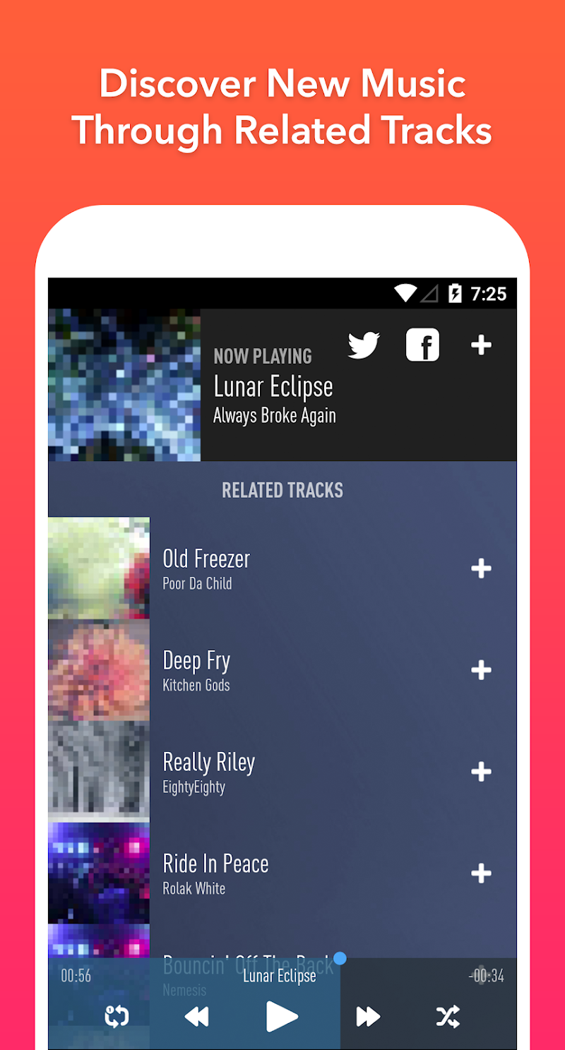 SongFlip – Free Music Streaming & Player v1.1.10 AdFree