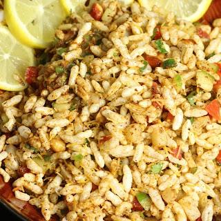Jhaal Muri – Kolkata Puffed Rice Snack.