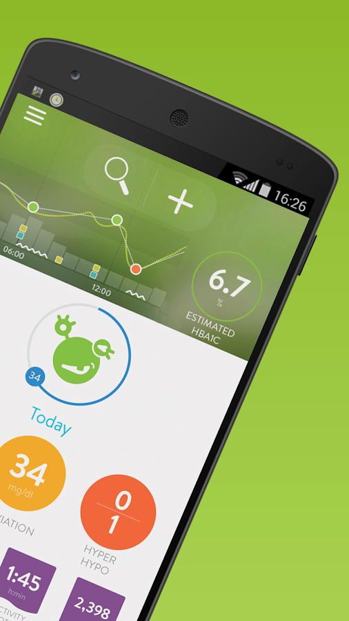 mySugr: the blood sugar tracker made just for you- screenshot