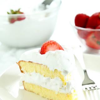 Gluten Free Sponge Cake.