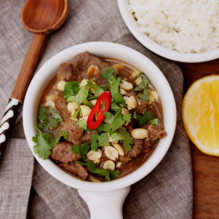 Spicy Thai Beef Curry.