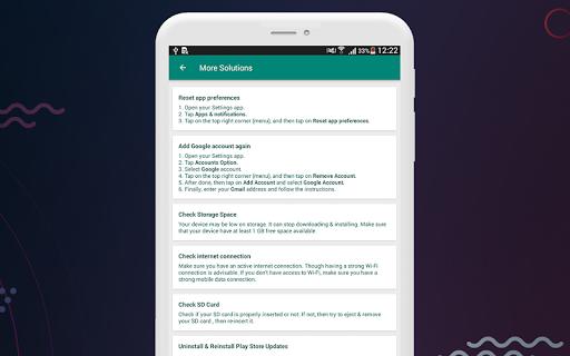 Fix Play Services 2020 (Update) 1.4 screenshots 9