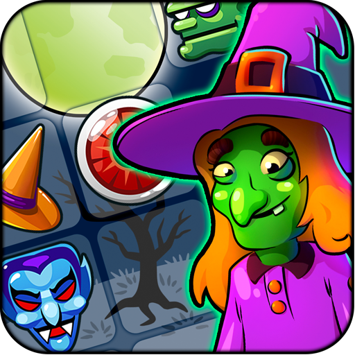 Halloween Witch Puzzle World 解謎 App LOGO-硬是要APP