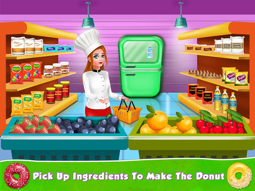 Kids Donut Bakery Food Maker Game 1.0 screenshots 12