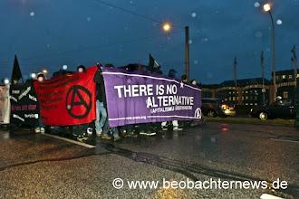 Photo: Demonstrationsspitze
