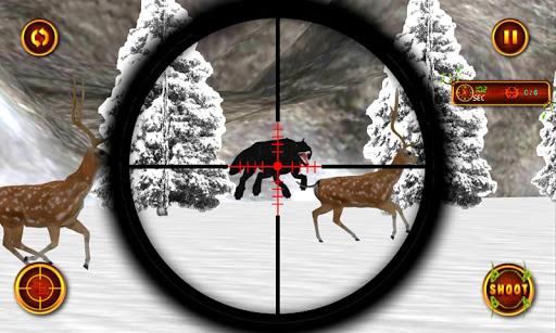 狙擊手野狼獵鹿人