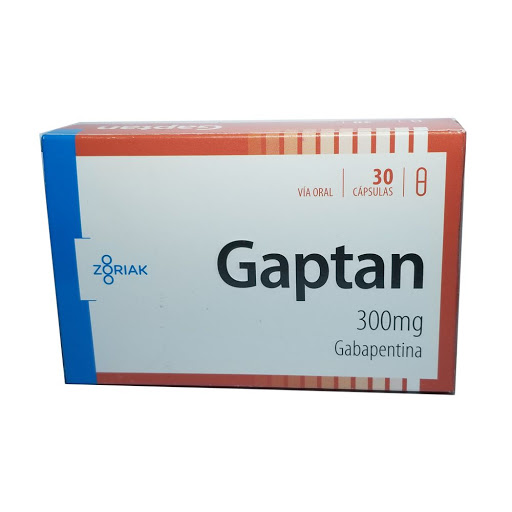 Gabapentina Gaptan 300mg x 30 Tabletas